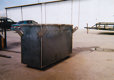 Custom Steel Containers, Offshort Containers, Moisture Sealed Steel Container, Steel Container Welding